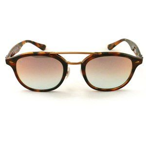 Ray-Ban Square Style Rose Brown Mirrored Lens
